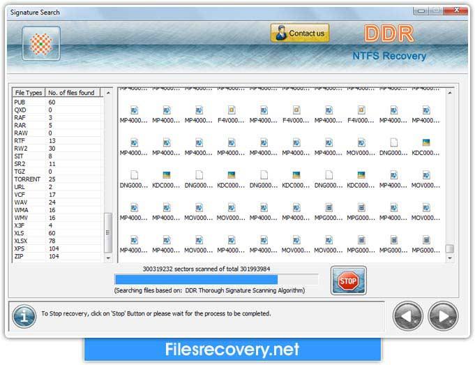 Windows 7 NTFS Files Recovery 4.0.1.6 full